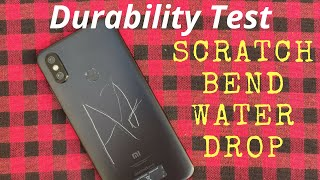 Xiaomi Mi A2 (6x) Durability Test (Scratch, Bend, Drop, WaterProof) ! Most Durable Budget Phone ?