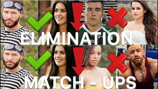 The challenge War of the worlds | ELIMINATION MATCH - UPS, WHO ELIMINATED WHO???