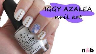 EASY Iggy Azalea Inspired Nail Art Tutorial
