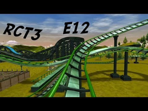 Roller coaster tycoon 3 vanilla career mode e12 dubbele looping youtube - Vloer roller ...