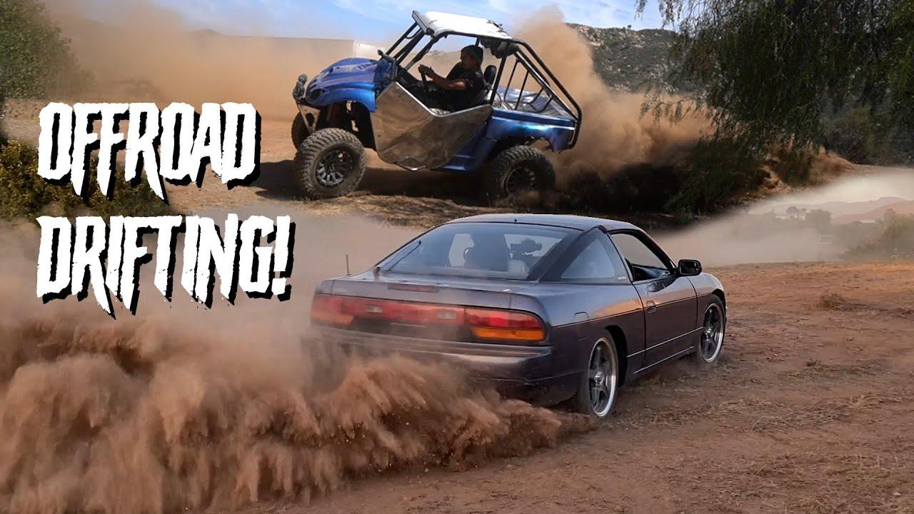 240SX Off-Road Drift Course In My Backyard! /S02E54