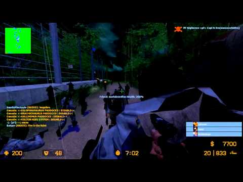 Counter-Strike: Source (Zombie Escape) Jurassic Park Story Map