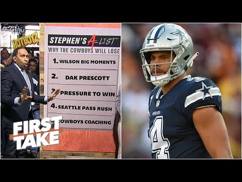 Stephen A. trolls Cowboys' fans with his list on why they will lose to Seahawks | First Take