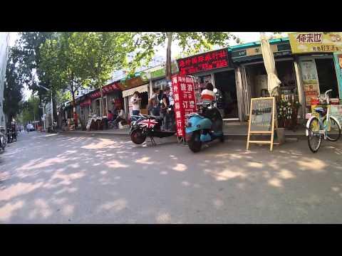Walking around Beijing Language and Culture University (BLCU)