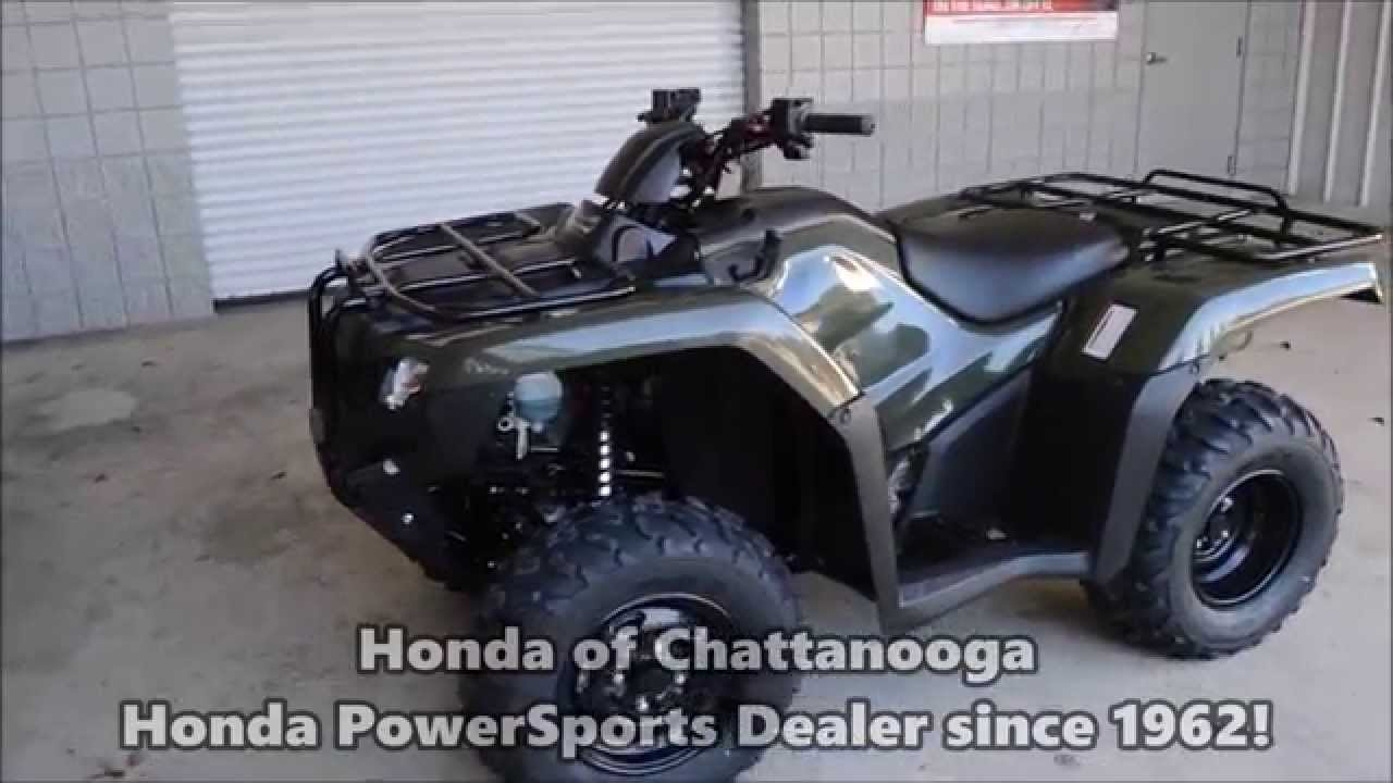 2015 TRX420FE Rancher 420 Four Wheeler SALE / Honda Of Chattanooga TN ATV  Dealer // TRX420FE1F