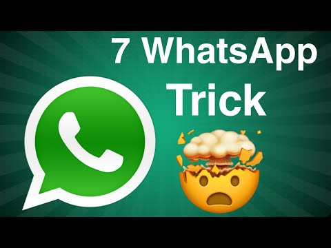 7 HIDDEN New WhatsApp Tricks NOBODY KNOWS 2019 Hindi