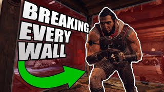 I ran through EVERY WALL as Oryx and this is what happened... - Rainbow Six Siege