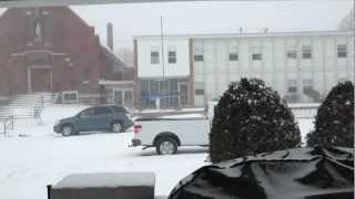 Feb 21, 2013 blizzard in Kirksville, Mo