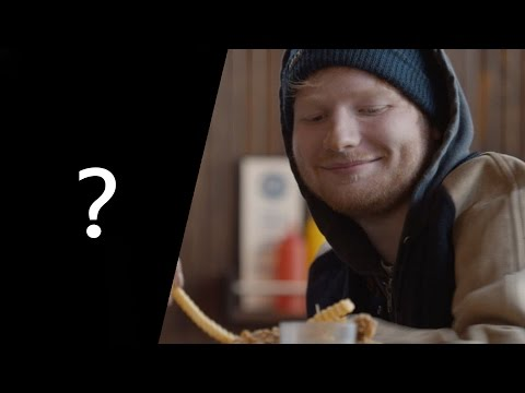 What is the song? Ed Sheeran