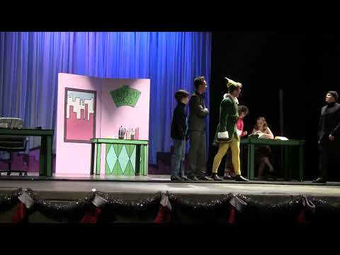 BHS 2017 Winter Play - ELF -- Act 1 (part 1)