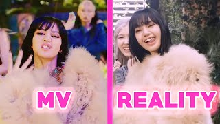 BLACKPINK 'HOW YOU LIKE THAT' - MV vs REALITY