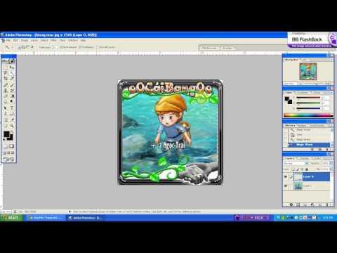 hướng dẫn chèn hình vào khung ảnh trong photoshop 7 0