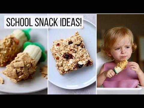 Healthy School Snacks Ideas...for any age! VEGAN + GLUTEN FREE!