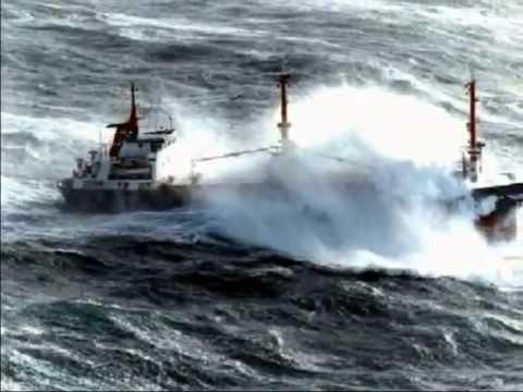 Tormenta En Alta Mar Youtube