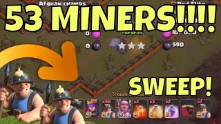 3 ways to MASS MINER RING BASES at Th11 in Clash Of Clans