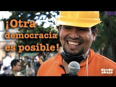 !Otra democracia es posible!