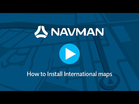 How To Install International Maps