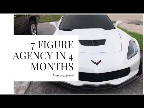 Behind The Scenes: Lessons Learned Building A 7 Figure Agency 4 Months