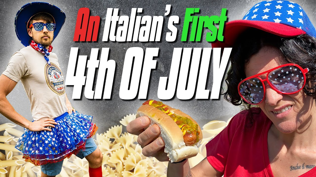 An Italian's First 4th of July Cookout | American vs. Italian Hot Dogs