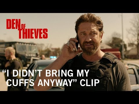 """Den of Thieves   """"I Didn't Bring My Cuffs Anyway"""" Clip   Now Playing"""