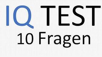 IQ TEST | 10 Fragen
