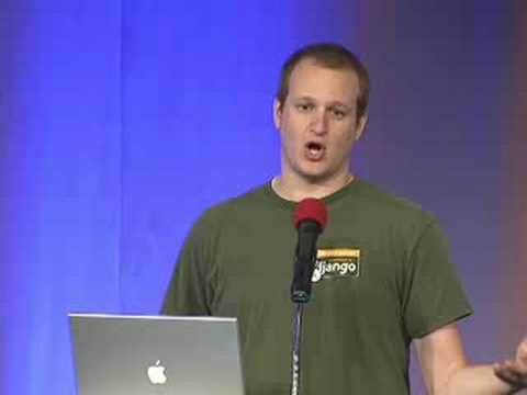 Image from DjangoCon 2008: Chairman Opening Keynote