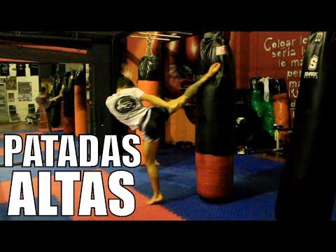 Como hacer una patada circular a la CABEZA / Kick Boxing - Muay thai