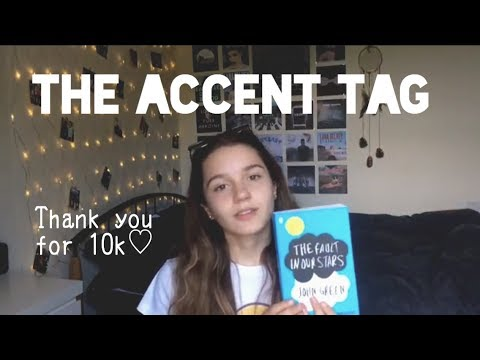 what is my accent? // the accent tag (newcastle, england)