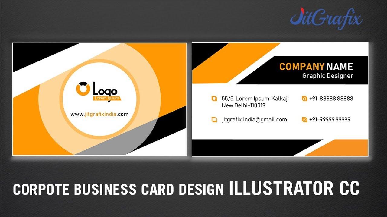 Best business card design illustrator cc jit grafix online best business card design illustrator cc jit grafix online creative visiting card latest colourmoves