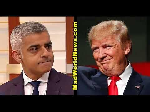 Trump-Bashing Muslim Mayor Sadiq Khan Hit With Devastating News That Could End Him