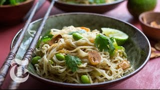 Pan-Fried Noodles With Some Spice  Melissa Clark Recipes  The New York Times