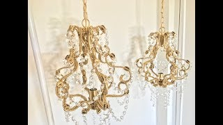 Revamp Bead/ Crystal Chandelier