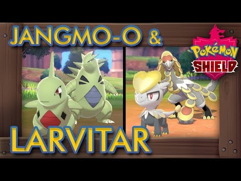 Pokémon Sword & Shield - How to Catch Larvitar & Jangmo-o