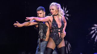 Britney Spears - Clumsy & Change Your Mind (Live @ Piece Of Me Tour)