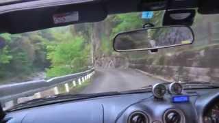 表匹見峡ドライブ 島根県道307号線 ロードスター車載カメラ