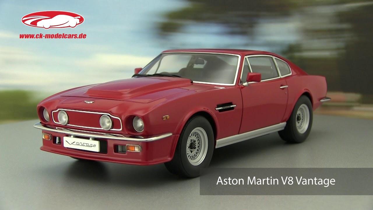 Ck Modelcars Video Aston Martin V8 Vantage Baujahr 1985 Rot Autoart Youtube