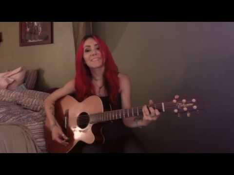"Melissa Harding covering ""Heres To Us"" by Halestorm for #StrutterSongSaturdays!"