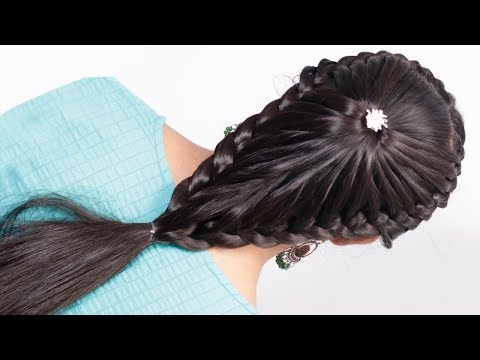 Easy & Unique hairstyles for party/wedding/work || Hairstyle girl | easy Hairstyles for ladies