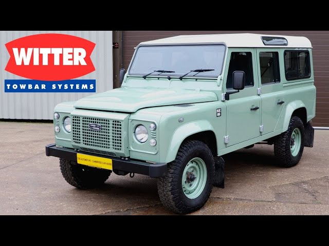 Ball & Pin Towbar Installation | Land Rover Defender 110