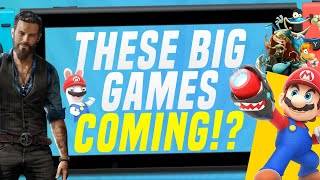 Are These Big New Nintendo Switch Games Coming Soon!?  Ubisoft, Devolver, Bandai