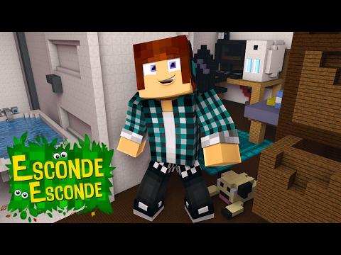 Minecraft: QUARTO DO AUTHENTIC! (Esconde-Esconde)