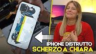 HO DISTRUTTO L'IPHONE A CHIARA FACCHETTI - SCHERZO