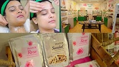 Inatur Salon Beauty Services Review | Aarushi Jain