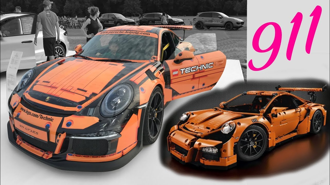 porsche 911 gt3 rs lego technic design 42056 panamera sport turismo youtube. Black Bedroom Furniture Sets. Home Design Ideas