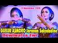 GUBUK ASMORO Jaranan Sakndadine - Dewiwati & Ewi New SEKARGADUNG 12 November 2019