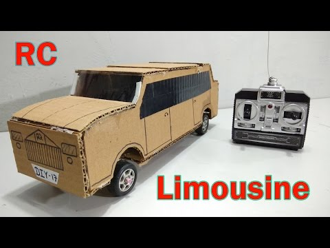 how-to-make-remote-controlled-limousine-car-at-home