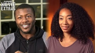 The Purge: Election Year | On-set with Betty Gabriel & Edwin Hodge [Interview]