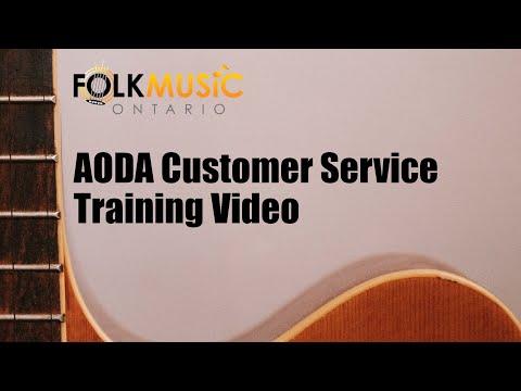 AODA Customer Service Training video