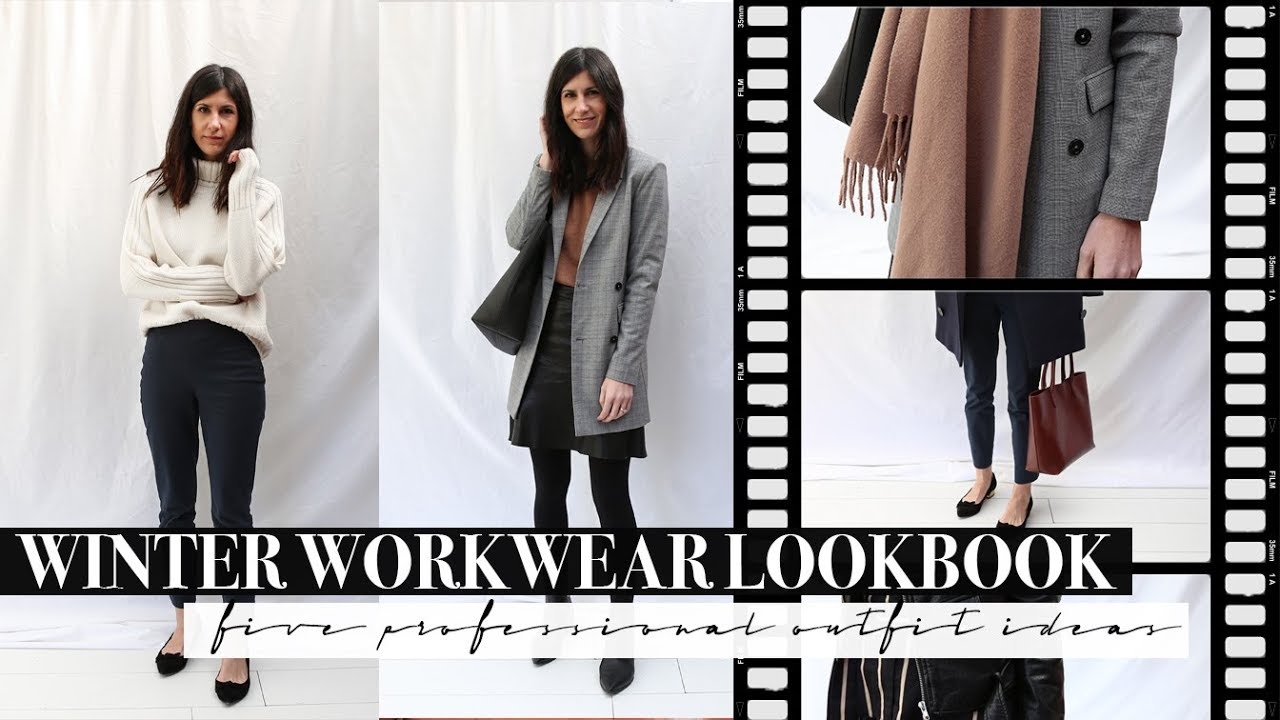 [VIDEO] - Winter Workwear Lookbook - Five Professional Outfits for the Office | Mademoiselle 7