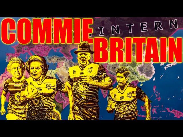 Communist Britain spreads redness all over the world